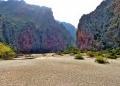 Mallorca-Sa-Calobra-Torrent-de-Pareis-Berge-Felsen-Sonnenschein-120x86