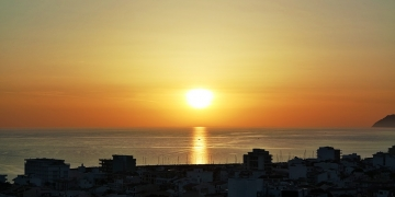 Mallorca-Can-Picafort-Sonnenaufang-Meer-Boot