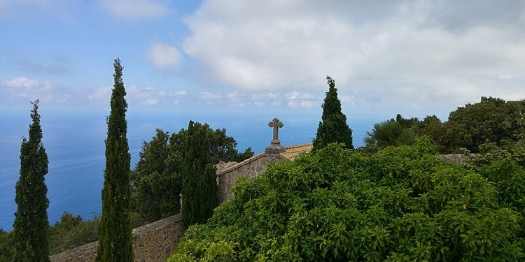 Mallorca-Ermita-de-la-Trinitat-Kloster-Kreuz