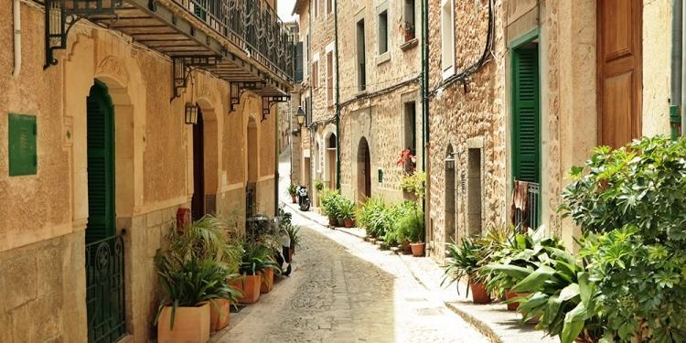 Mallorca-Fornalutx-Gasse