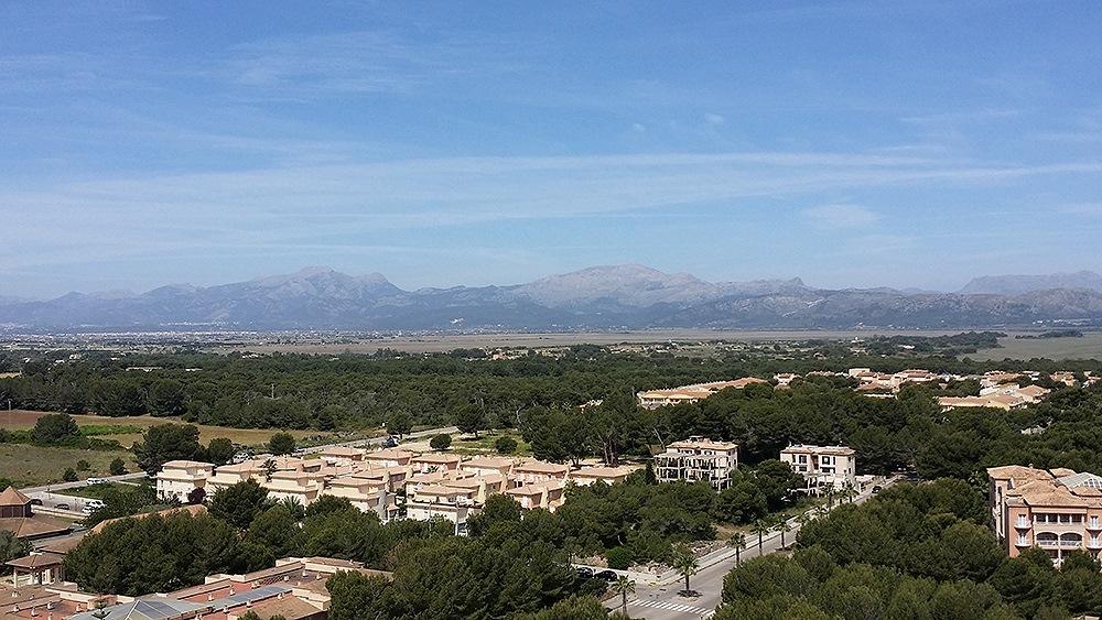 Mallorca-Can-Picafort-Aussicht-Berge