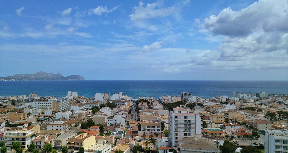Mallorca-Can-Picafort-Aussicht-Meer-2