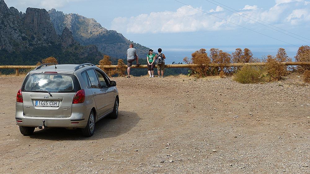 Mallorca-Mietwagen-Aussicht