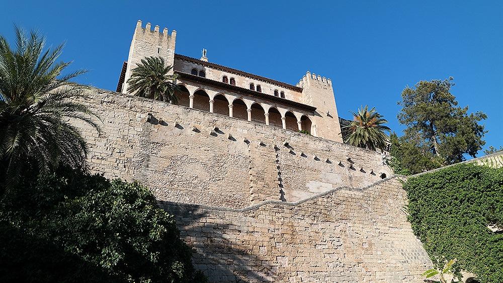 Mallorca-Palma-Almundaina-Palast