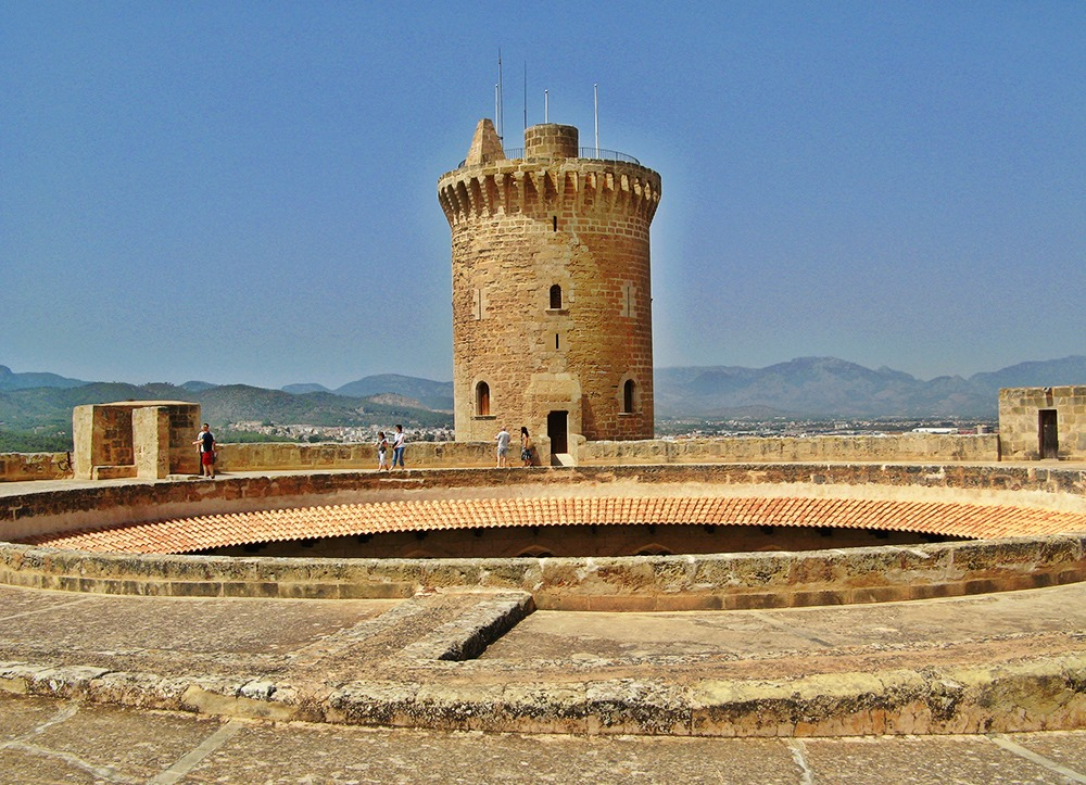 Mallorca-Palma-Castell-de-Bellver