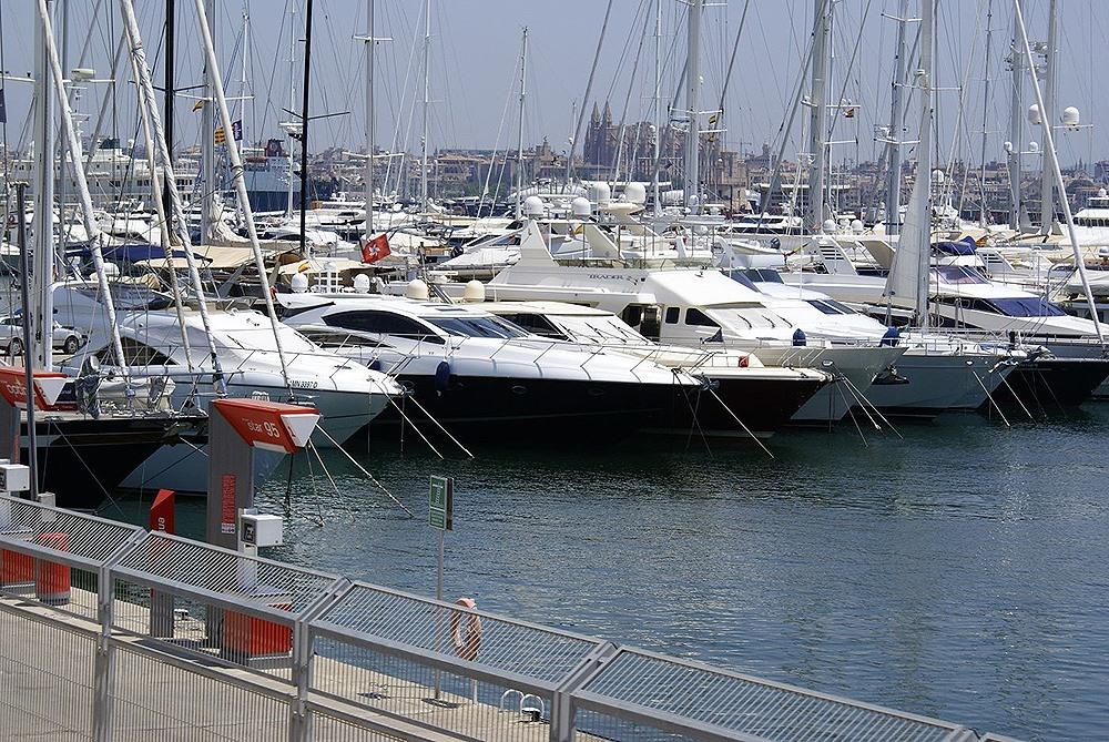 Mallorca-Palma-Hafen-Boote
