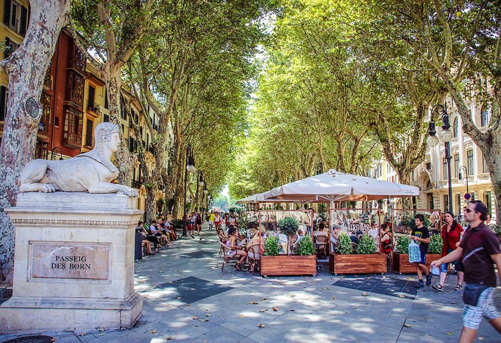 Mallorca-Palma-Passeig-del-Borne-2