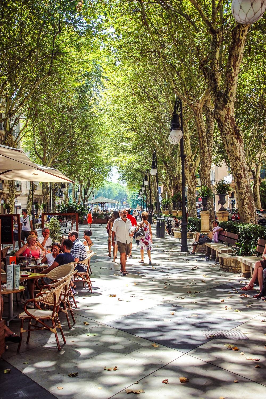 Mallorca-Palma-Passeig-del-Borne
