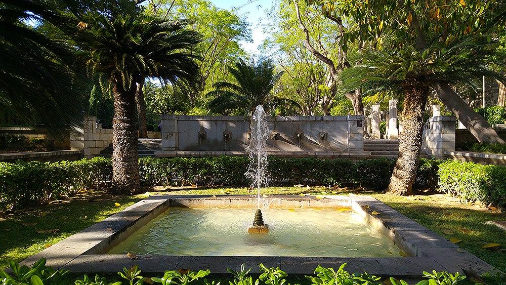Palma-de-Mallorca-Brunnen