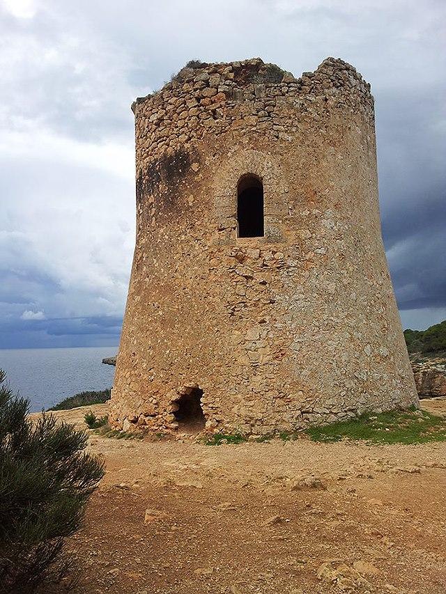 Mallorca-Wachturm-Meer