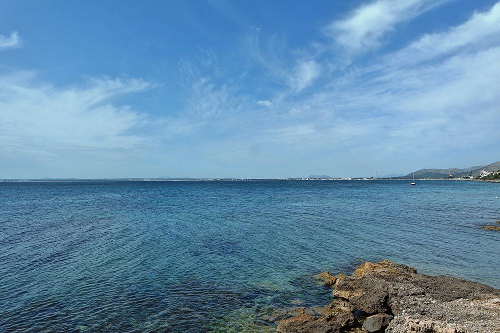Mallorca-Alcanada-Strand-Blick-Can-Picafort