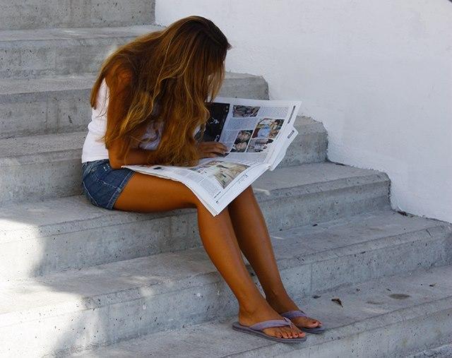 Mallorca-Geschenk-Zeitung