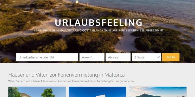 Vacalia-Webseite