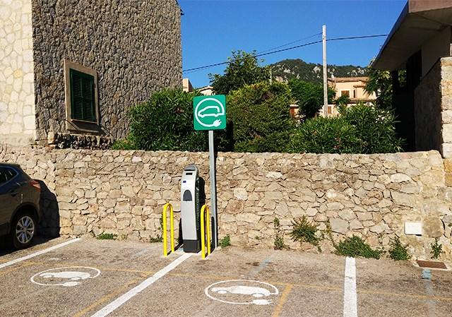 Elektroauto-Stromtankstelle-Mallorca