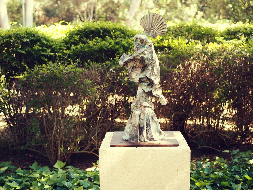 Mallorca-Palma-Marivent-Gaerten-Kunst-Statue