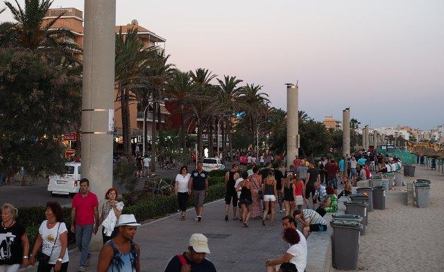 Mallorca-Ballermann El Arenal Promenade