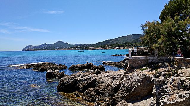 Mallorca-Restaurant-Cala-Ratjada-Marea-Tropical-Ausblick-Meer