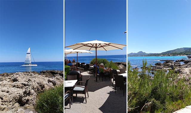 Mallorca-Restaurant-Cala-Ratjada-Marea-Tropical-Ausblick-Terrasse-Meer