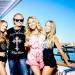 Robert und Carmen mit ihren Töchtern Shania und Davina - heute bricht die Familie zum Ballermann auf   RTL II