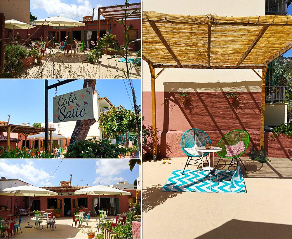 Mallorca-Canyamel-Cafe-Sauc-Aussenbereich-Eingang-Schild