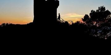 Sonnenuntergang am Torre del Verger