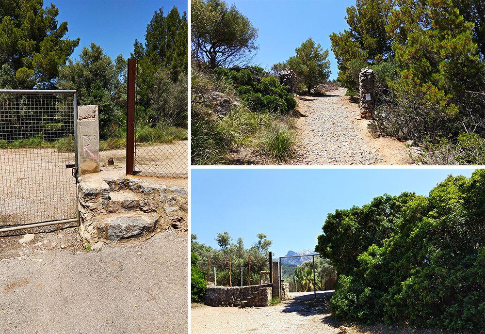 Mallorca-Port-de-Soller-Torre-Picada-Wanderung-Weg