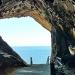 Diese einmalige Aussicht hat man am Eingang der Coves d'Artà, der Tropfsteinhöhlen von Arta