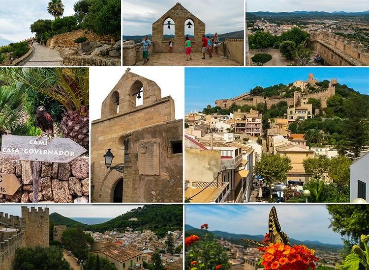 Mallorca-Capdepera-Burg-Ausblick-Mauer