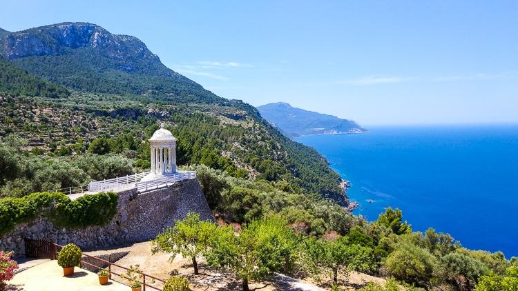 Mallorca-Son-Marroig-Pavillon-Ausblick-Meer