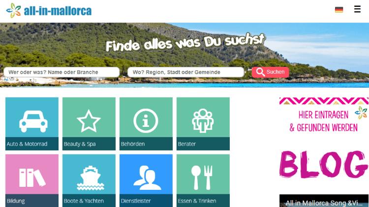 All-In-Mallorca-Startseite