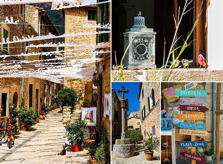 Mallorca-Valldemossa-Touristen-Besucher-Gassen-Urlaub-Strand
