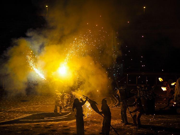 Mallorca-Correfoc-Johannisnacht-Muro-Feuerteufel-7