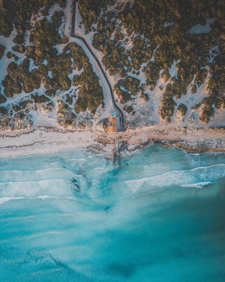 Es-Trenc-Sonnenuntergang-Drohne-Mallorca