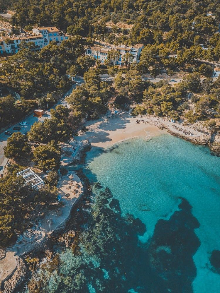 Illetas-Beach-Drohne-Mallorca