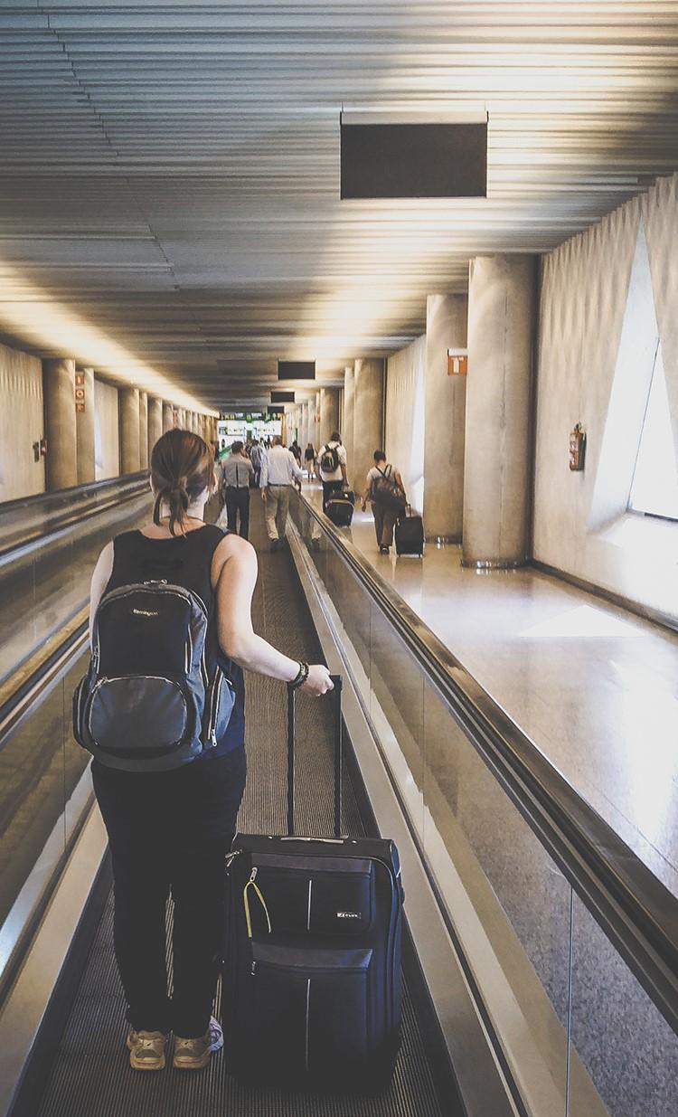 Mallorca-Flughafen-Gepaeck-Koffer