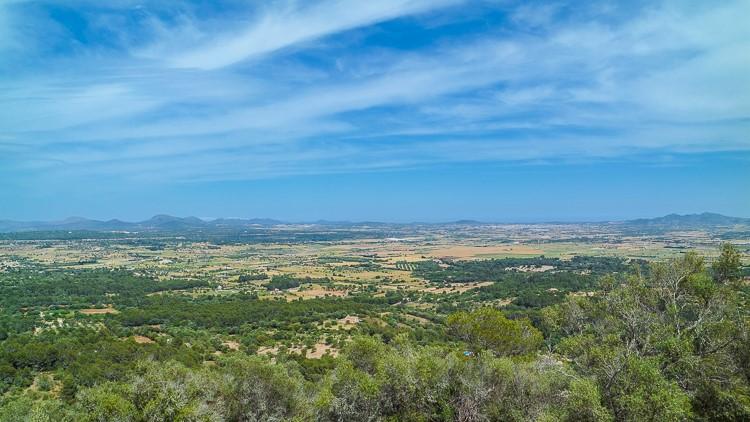 Mallorca-Kloster-Bonany-Aussicht