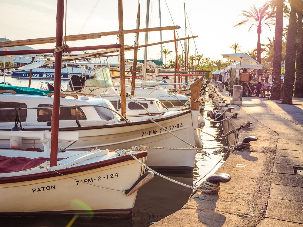 Mallorca-Port-de-Alcudia-Hafen-Boote