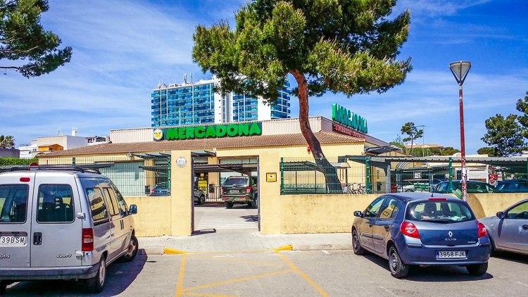 Mercadona-Supermarkt-Mallorca-Can-Picafort
