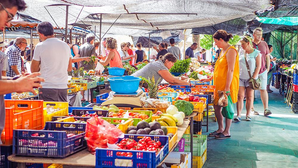 Mallorca-Pollenca-Markt