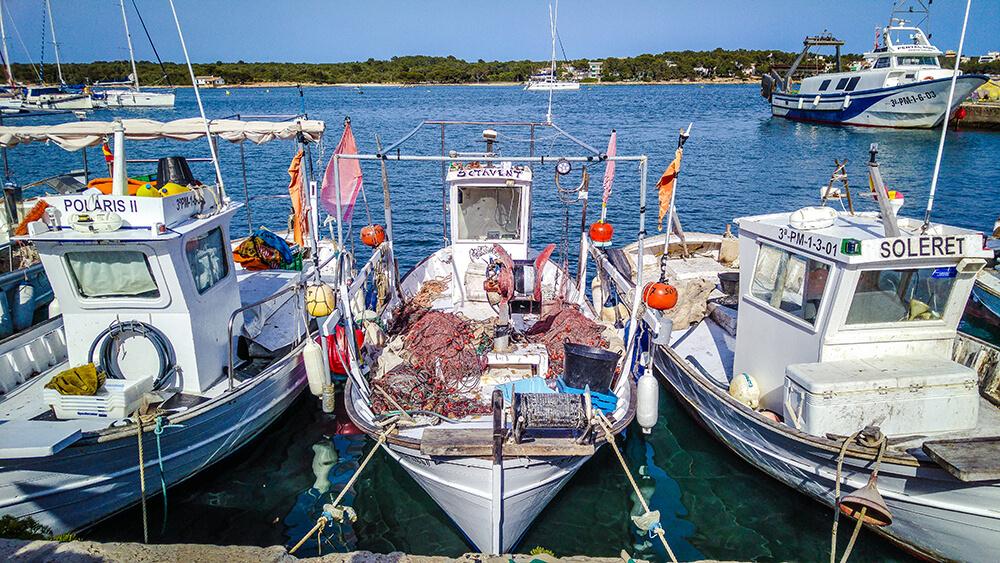 Mallorca-Portocolom-Hafen-Boote-2