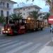 Eine Bimmelbahn wie diese in Can Picafort fährt auch an der Playa de Palma