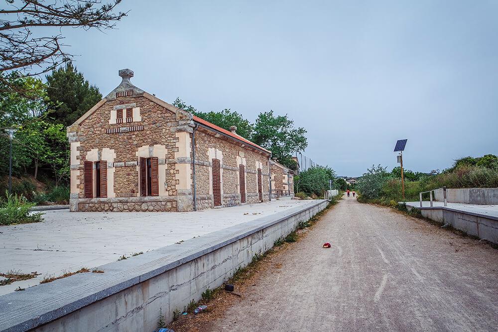 Mallorca-Son-Servera-Bahnhof