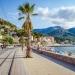 So ruhig geht es nur selten auf der Strandpromenade von Port de Sóller zu.