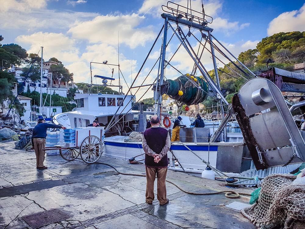Mallorca-Cala-Figuera-Winter-Boote-Fischfang