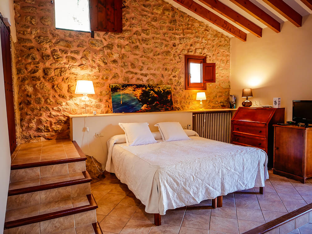 Mallorca-Tramuntana-Finca-Landhotel-Alqueria-Blanca-Doppelzimmer
