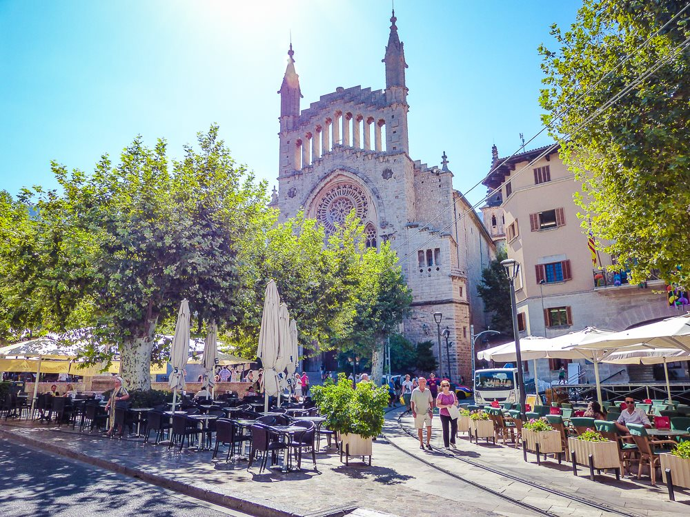 Soller-Kirche-Mallorca