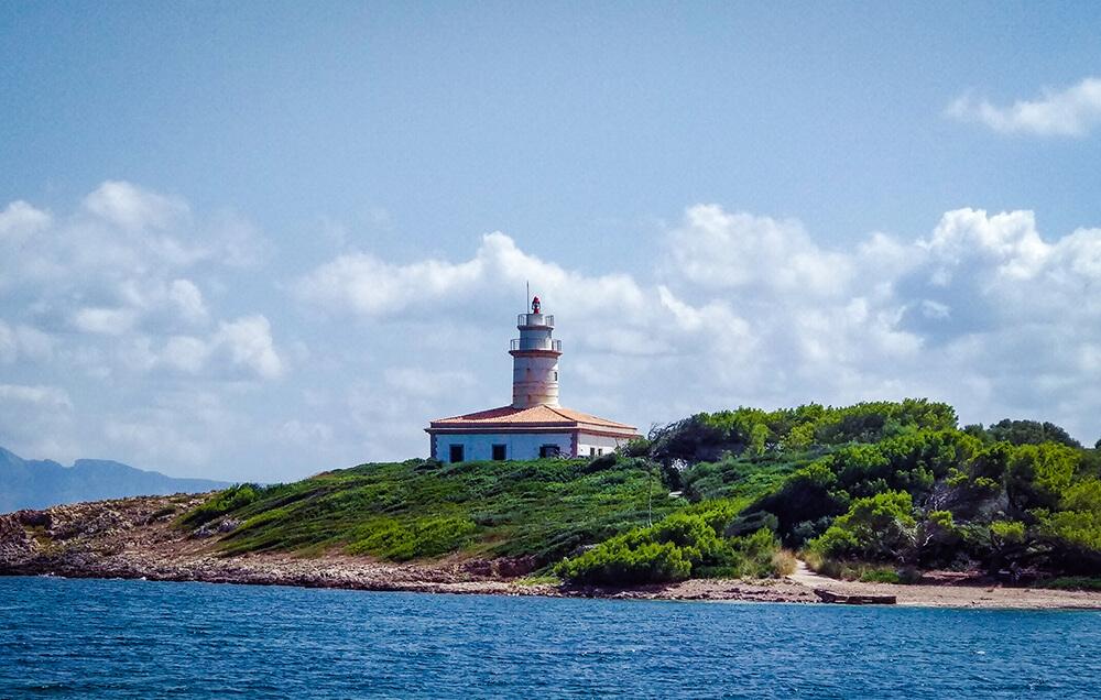 Mallorca-Leuchtturm-Alcanada