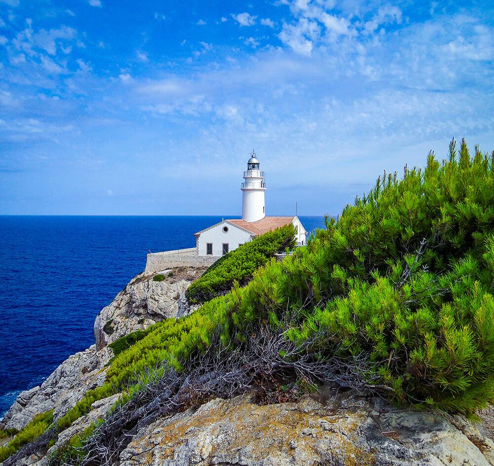 Mallorca-Leuchtturm-Capdepera