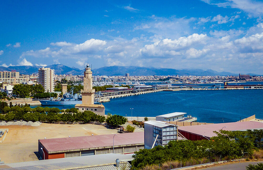 Mallorca-Leuchtturm-Palma-Porto-Pi