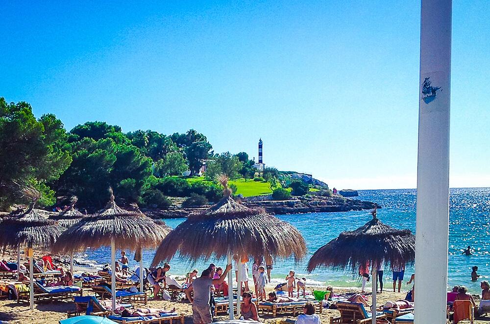 Mallorca-Leuchtturm-Portocolom